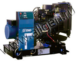 Дизельный генератор SDMO J33 мощностью 26 кВт