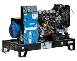 Дизельный генератор SDMO K26M мощностью 21 кВт