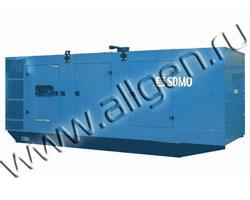 Дизель генератор SDMO X715 мощностью 715 кВА (572 кВт) в шумозащитном кожухе