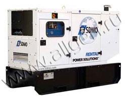 Дизельный генератор SDMO R90 (Франция) мощностью 88 кВА (70 кВт) с наработкой (б/у)