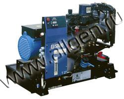 Дизель электростанция SDMO Т25КМ мощностью 25 кВА (20 кВт) на раме