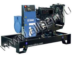 Дизельный генератор SDMO K28H мощностью 22 кВт