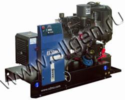Дизельный генератор SDMO Т6КМ на раме