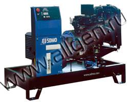 Дизельный генератор SDMO T9KM на раме