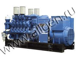 Дизель генератор SDMO X1540C мощностью 1540 кВА (1232 кВт) на раме