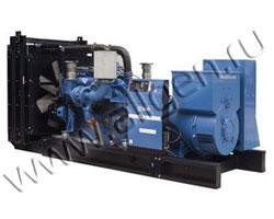 Дизель генератор SDMO X715 мощностью 715 кВА (572 кВт) на раме