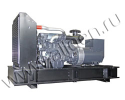 Дизель электростанция Stubelj LDE 400 P мощностью 400 кВА (320 кВт) на раме