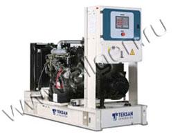 Дизель электростанция Teksan TJ25IS5A мощностью 25 кВА (20 кВт) на раме