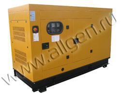 Дизель генератор Tide Power TDE35A мощностью 39 кВА (31 кВт) в шумозащитном кожухе