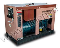 Дизельный генератор TOYO TG-10T мощностью 7 кВт