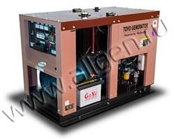 Дизельный генератор TOYO TG-14SPC/SBS мощностью 9 кВт