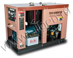 Дизельный генератор TOYO TG-19TPC/TBS мощностью 12 кВт