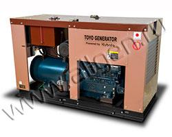 Дизельный генератор TOYO TG-30SPC/SBS мощностью 21 кВт