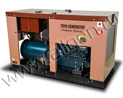Дизель электростанция TOYO TSN-115 мощностью 98 кВА (78 кВт) на раме