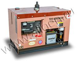 Дизельный генератор TOYO TKV-11SPC/SBS мощностью 8 кВт