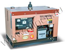 Дизельный генератор TOYO TKV-14TPC/TBS мощностью 10 кВт