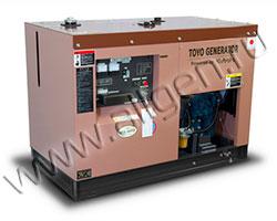 Дизельный генератор TOYO TKV-15SPC/SBS мощностью 11 кВт
