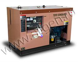 Дизельный генератор TOYO TKV-20SPC/SBS мощностью 14 кВт
