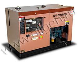 Дизель электростанция TOYO TSN-30T мощностью 23 кВА (19 кВт) на раме