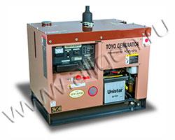 Дизельный генератор TOYO TKV-7.5SPC/SBC мощностью 5 кВт