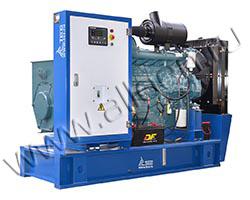 Дизель электростанция TCC АД-105С-Т400-РМ15 мощностью 144 кВА (116 кВт) на раме