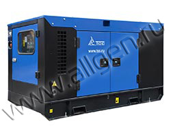 Дизель генератор TCC АД-10С-Т400-РМ13 мощностью 14 кВА (11 кВт) в шумозащитном кожухе