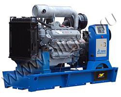 Дизель электростанция TCC АД-150С-Т400-РМ2 мощностью 206 кВА (165 кВт) на раме