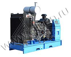 Дизель электростанция TCC АД-150С-Т400-РМ5 мощностью 206 кВА (165 кВт) на раме