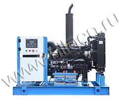 Дизель электростанция TCC АД-30С-Т400-РМ10 мощностью 41 кВА (33 кВт) на раме