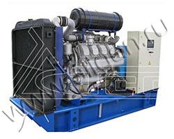 Дизель электростанция TCC АД-315С-Т400-РМ2 мощностью 433 кВА (347 кВт) на раме