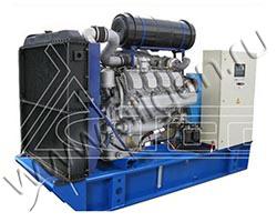 Дизель электростанция TCC АД-315С-Т400-РМ3 мощностью 433 кВА (347 кВт) на раме