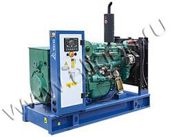 Дизель электростанция TCC АД-80С-Т400-РМ5 мощностью 110 кВА (88 кВт) на раме