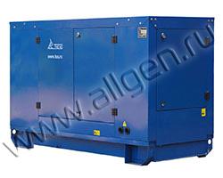 Дизельный генератор ТСС TTd 22TS ST мощностью 18 кВт