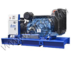 Дизельный генератор TCC TBd 280TS (220 кВт)