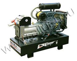 Дизель электростанция Вепрь АДА 38-Т400 РА мощностью 42 кВА (33 кВт) на раме