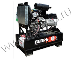 Дизельный генератор Вепрь АДА 8.5-Т400 РЯ на раме