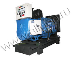 Дизель электростанция VibroPower VP100V мощностью 110 кВА (88 кВт) на раме