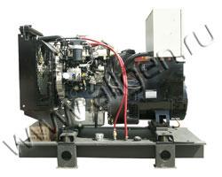Дизель электростанция VibroPower VP45P мощностью 50 кВА (40 кВт) на раме