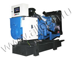 Дизель электростанция VibroPower VP80V мощностью 88 кВА (70 кВт) на раме