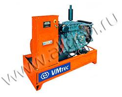 Дизель электростанция VMtec SPLW 24TE мощностью 23 кВА (19 кВт) на раме