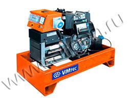 Дизель электростанция VMtec SPS 35 мощностью 39 кВА (31 кВт) на раме