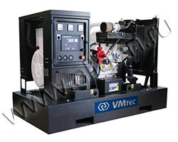 Дизель электростанция VMtec PWD 130 мощностью 142 кВА (114 кВт) на раме