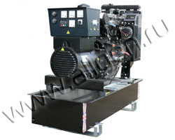 Дизель электростанция Welland WP80 мощностью 88 кВА (70 кВт) на раме