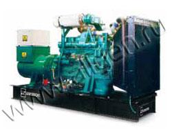 Дизель электростанция WFM K3500 WPE (WPES) мощностью 400 кВА (320 кВт) на раме