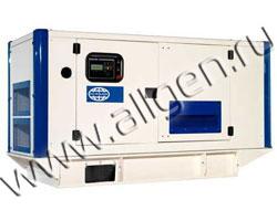 Дизель генератор Wilson P135 мощностью 150 кВА (120 кВт) в шумозащитном кожухе