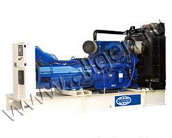 Дизель электростанция Wilson P400-1 мощностью 400 кВА (320 кВт) на раме