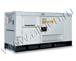 Дизельный генератор Yanmar YEG650DSLS мощностью 31 кВт