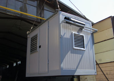 Компактный контейнер для генератора