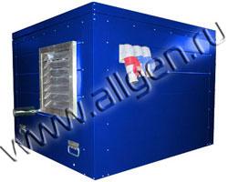 Портативный генератор Daewoo GDA 8500E-3 мощностью 7.5 кВт в контейнере