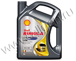 Моторное масло Shell Rimula R6 ME 5W-30